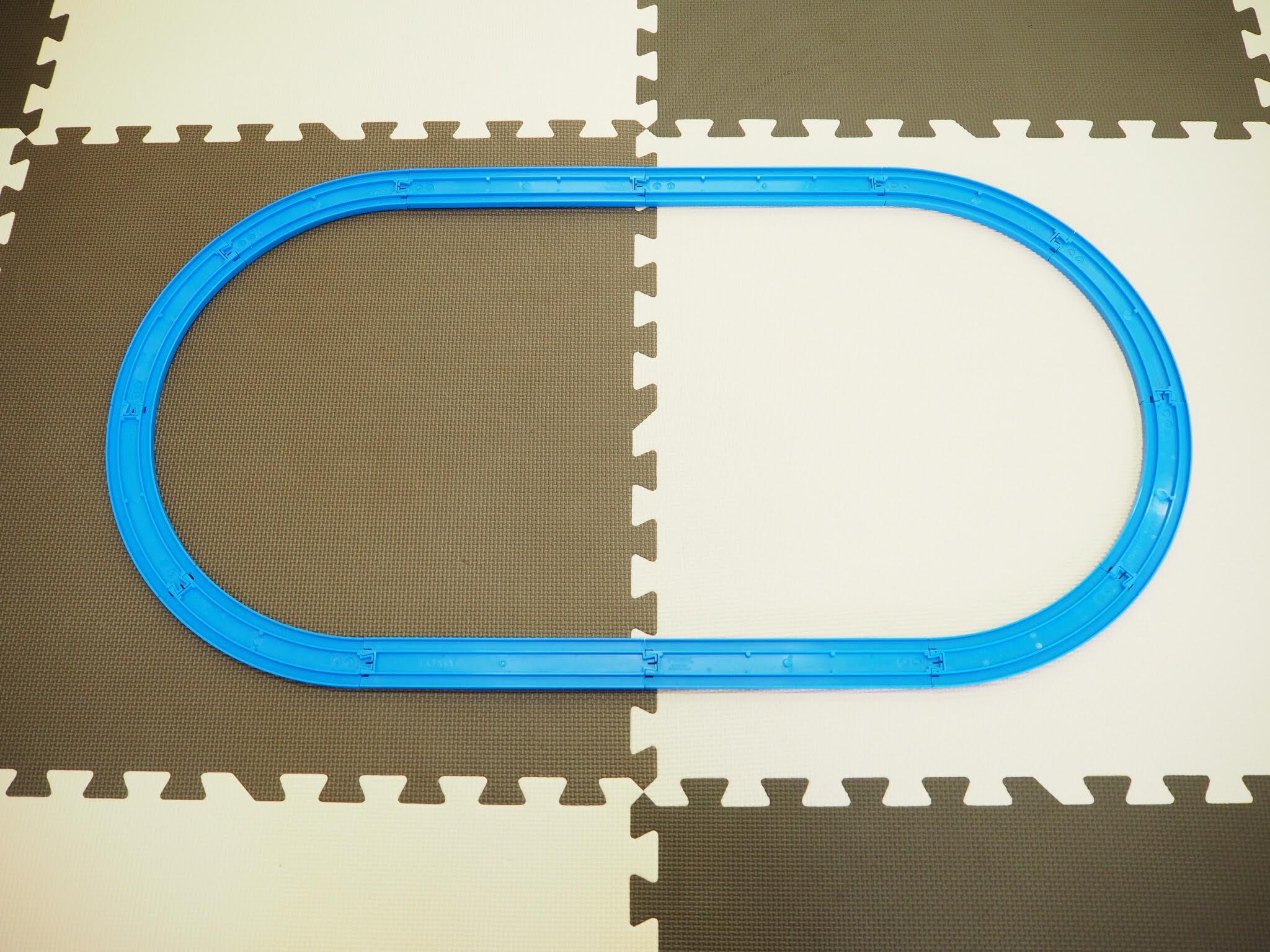 プラレールレイアウトの組み方2