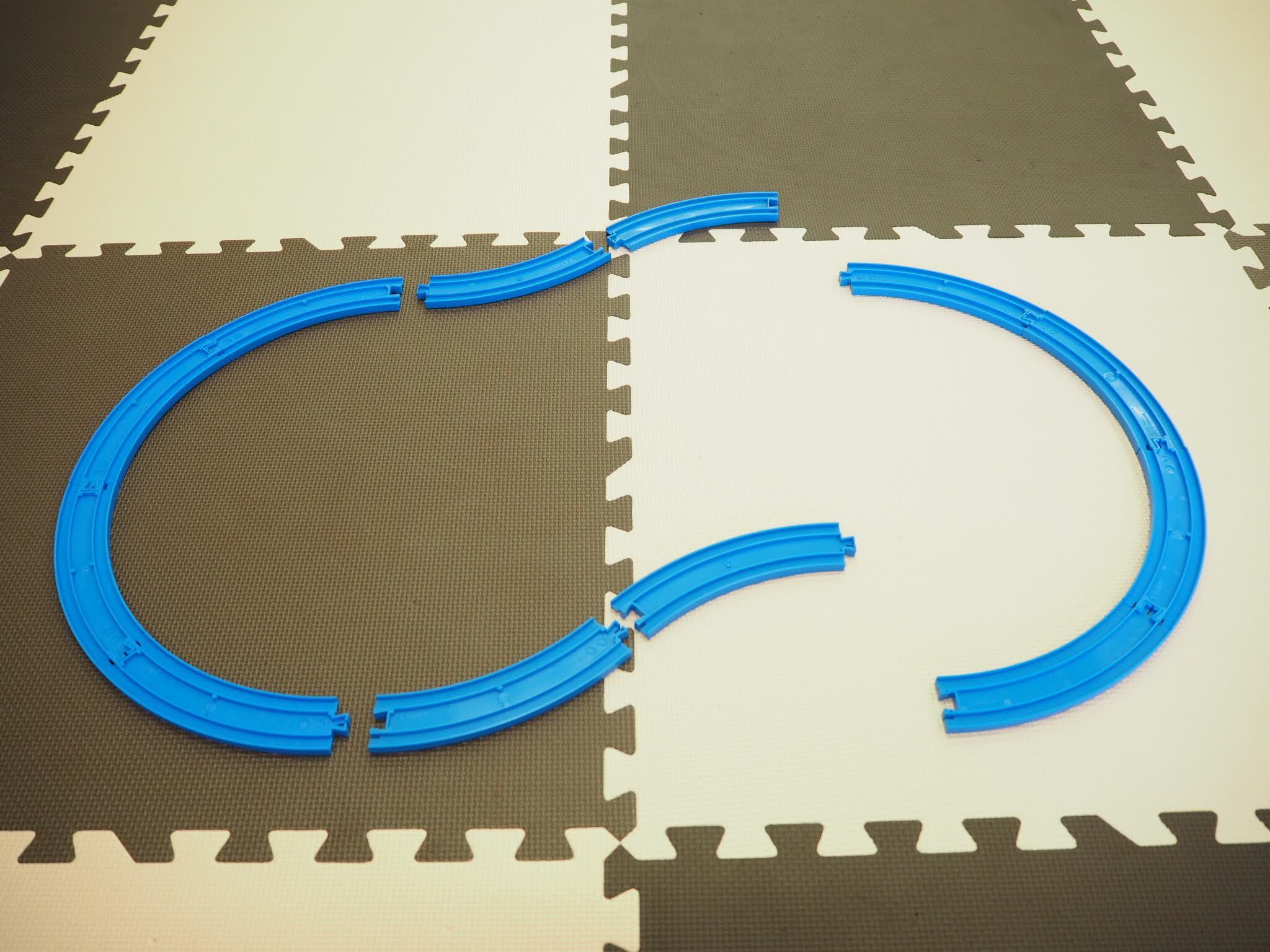 プラレールレイアウトの組み方3