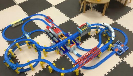 新幹線変形! メガデカE6系ステーションを使って、思いつくままにレイアウトを組んでみた!